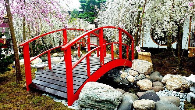 Colourful Garden Bridge