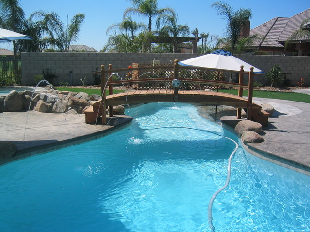 Over the Pool